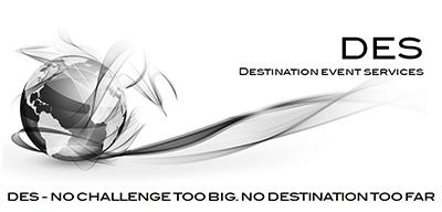 DESTINATION EVENT SERVICES Logo