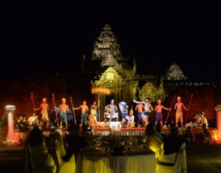 Magical Gala Dinner in an Angkor Temple
